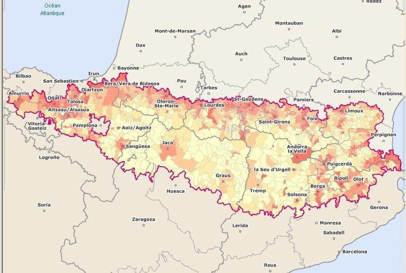 La Comunitat de Treball dels Pirineus engloba les administracions dels tres esta