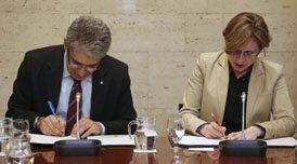 Homs i Malherbe signen l'acord